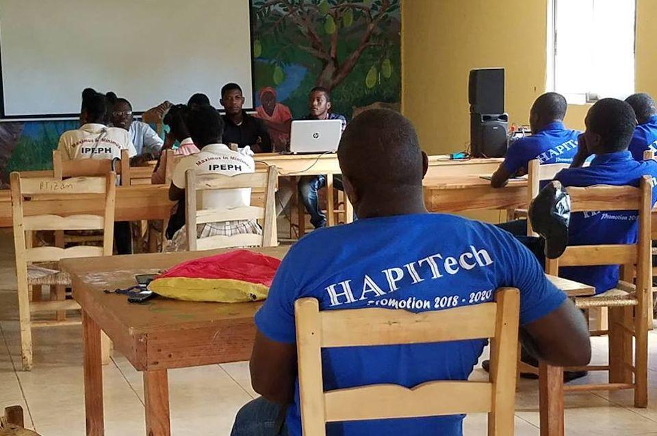 HAPITech students in class