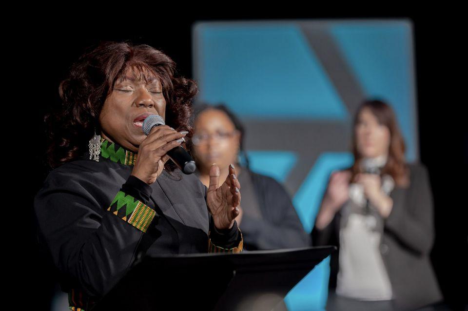 Conference teacher and preacher Rev. Dr. Cynthia Wilson