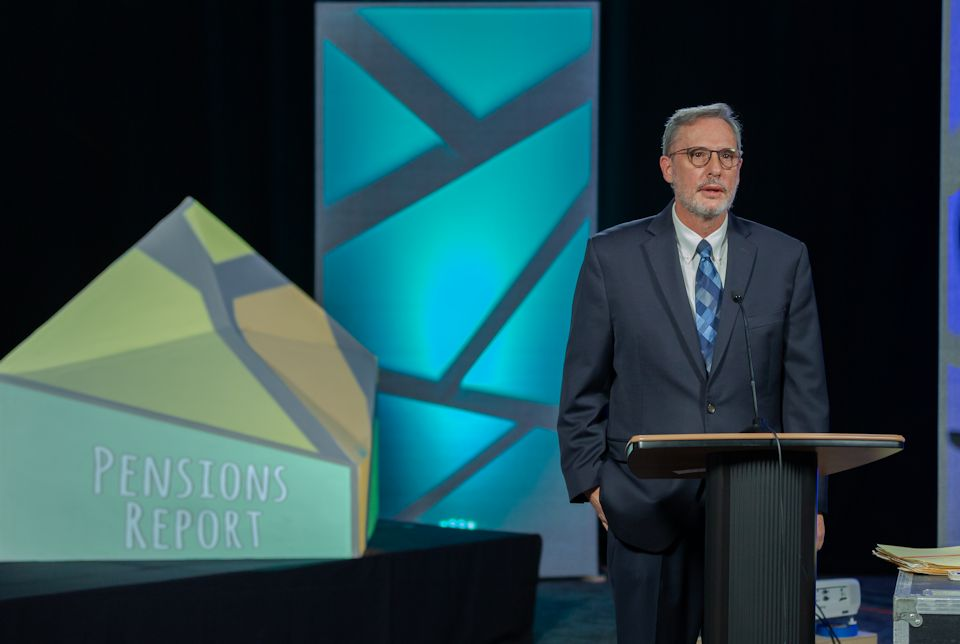 Don Emmert, Conference Director of Pensions and Benefits