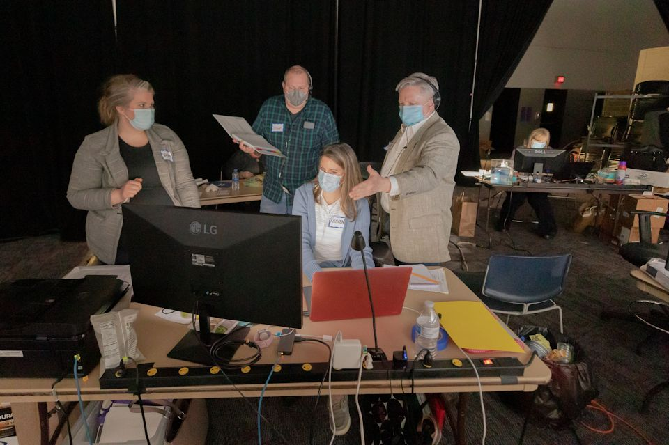 Behind the scenes at Annual Conference