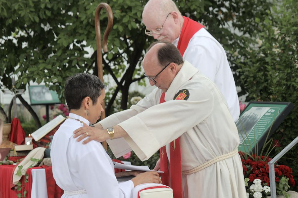 New provisional deacon alive in Christ