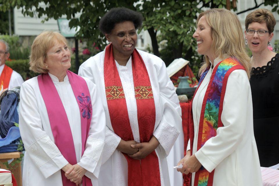 Tania Dozeman ordained at Troy Historic Village