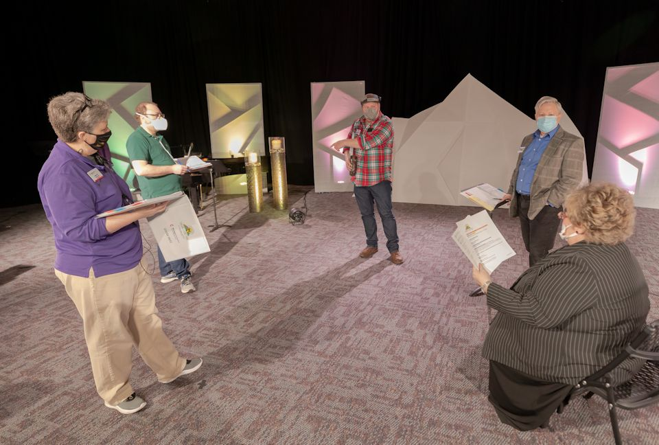 Virtual AC 2021 members of Production Crew