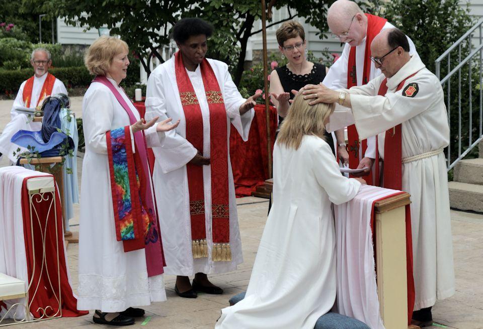 Alive In Christ. Tania Dozeman ordained Elder.