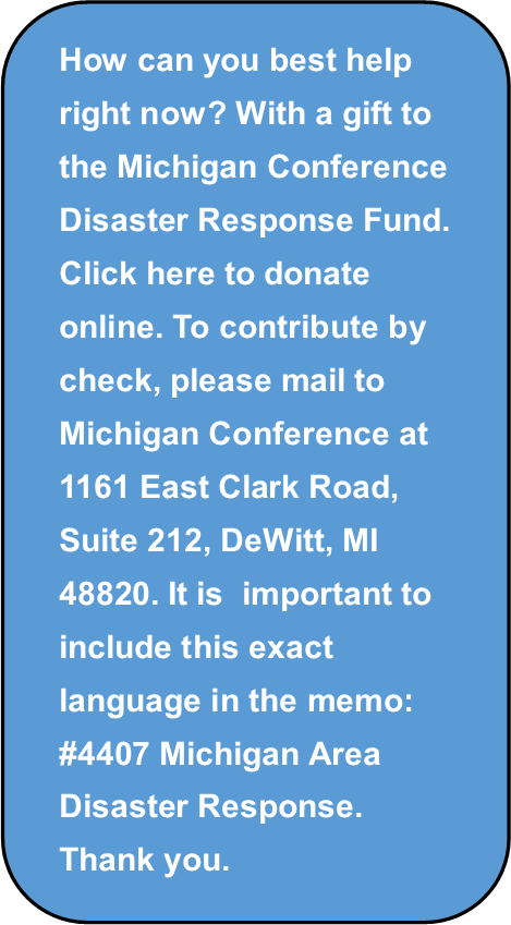 Disaster funds needed