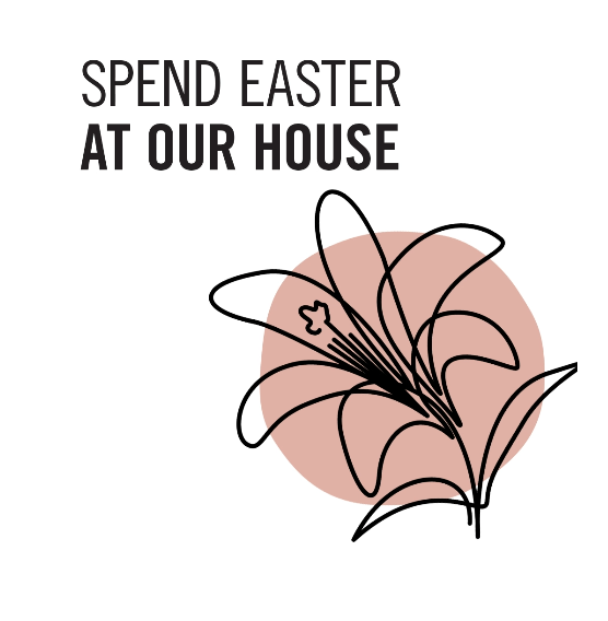 Easter at our house logo