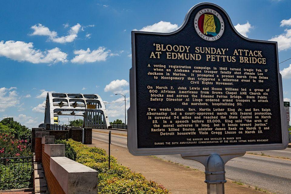 Civil Rights tour includes Edmund Pettus Bridge