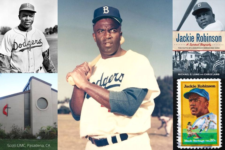 Jackie Robinson collage