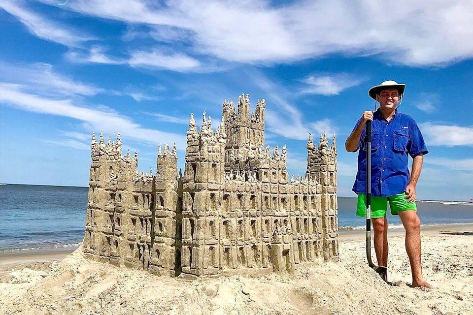 Sandcastles offer an chance to share faith
