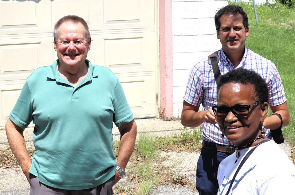 Leaders visit Second Grace UMC