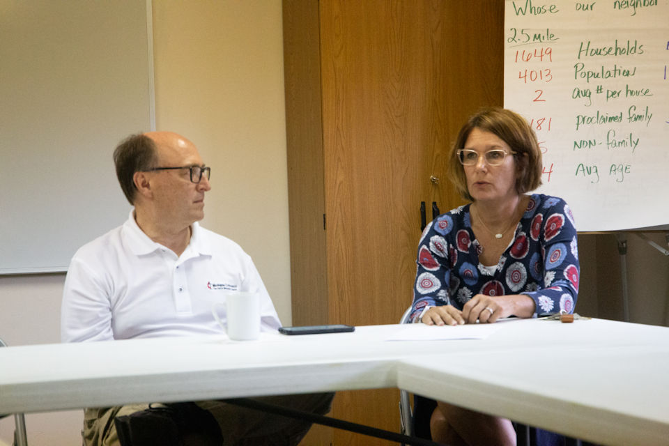 Nancy Money oversaw flood relief and recovery