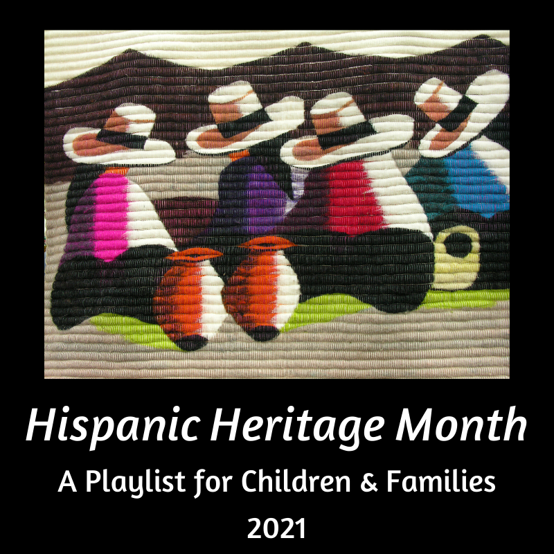 Mexican painting icon for Hispanic Heritage Month 2021