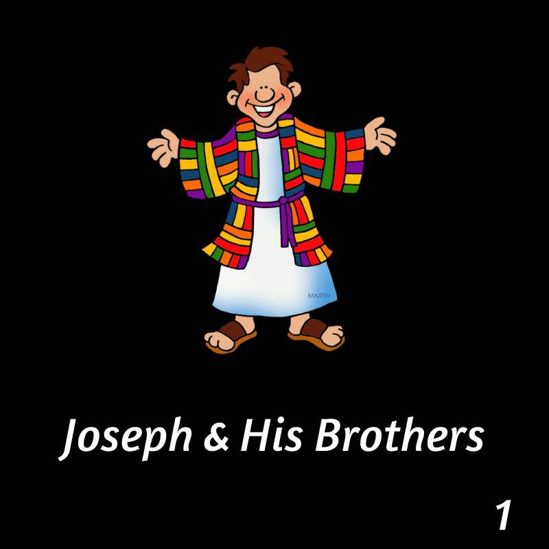 joseph and colorful coat button for playlist