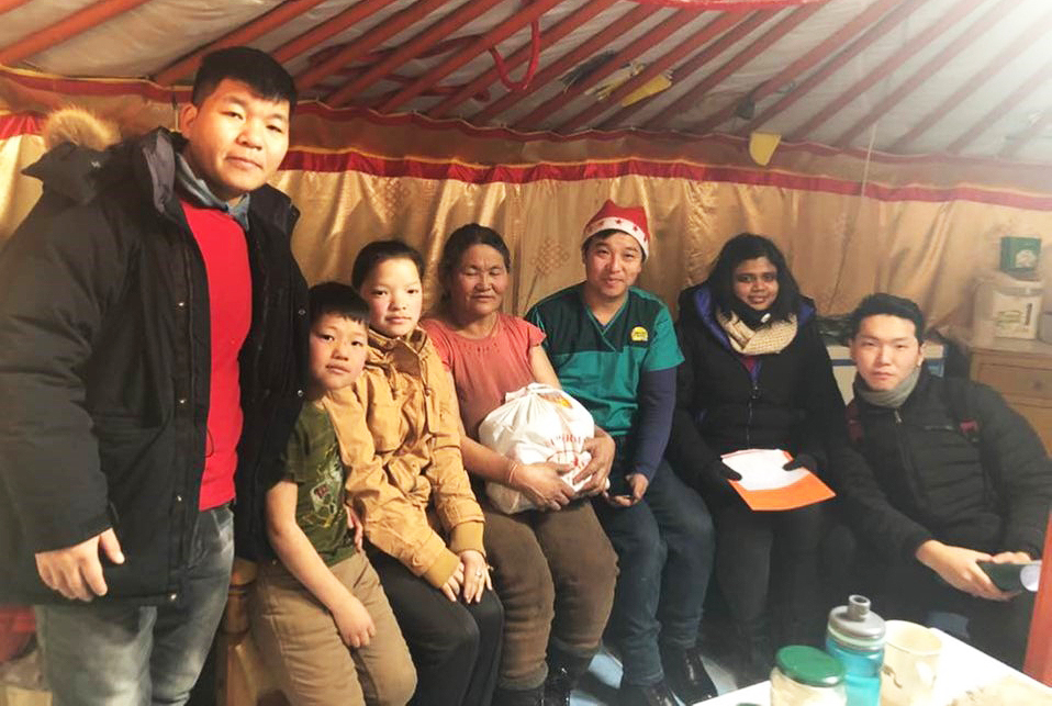 Hospice care in Mongolia