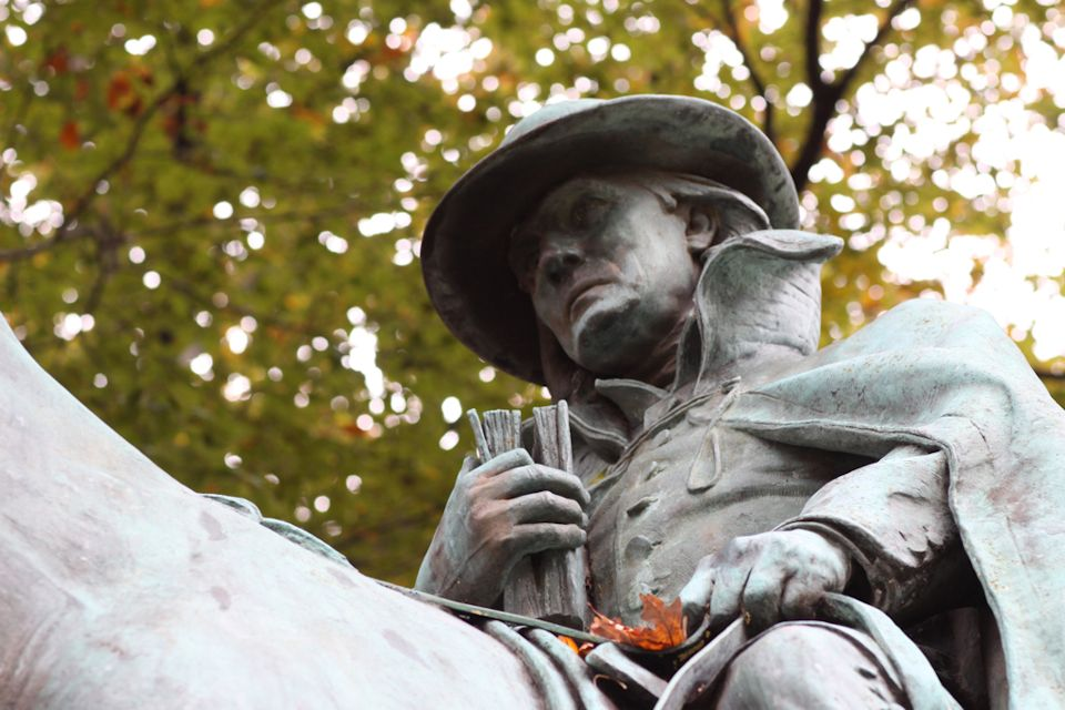 Francis Asbury statue