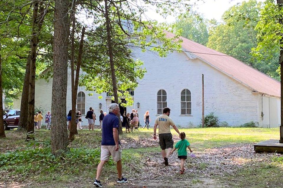 Tabernacle at Crystal Springs Camp