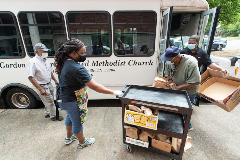 Black churches active during pandemic