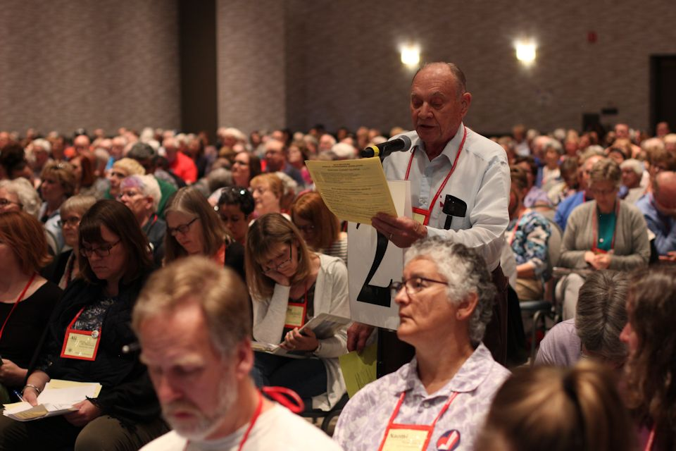 Lay equalization brings people to Annual Conference