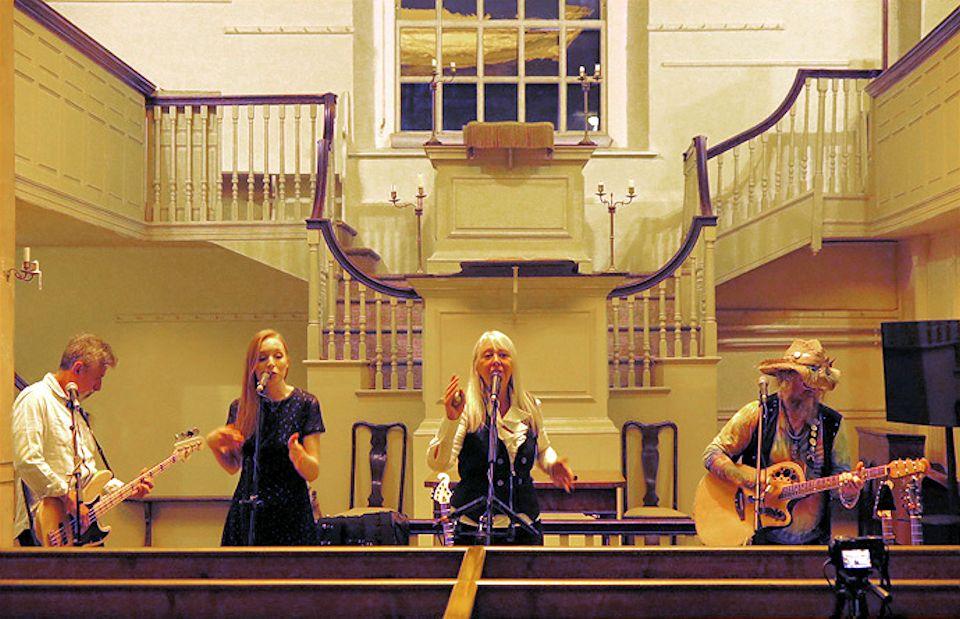 Band at Asbury commemoration