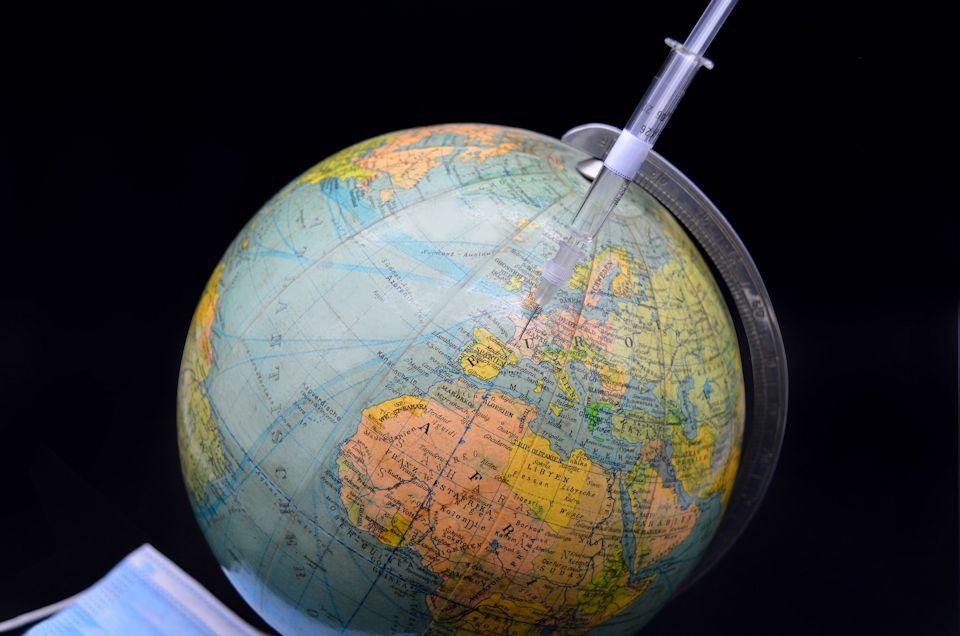 Vaccination around globe
